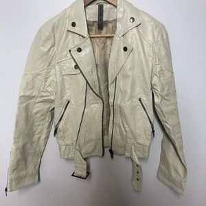 ⭐️5 FOR $25⭐️ Armor Jeans Faux Leather Jacket